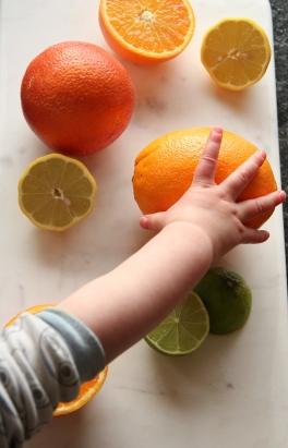 Curious little helping hands