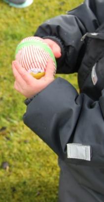 Bringing the Easter egg back