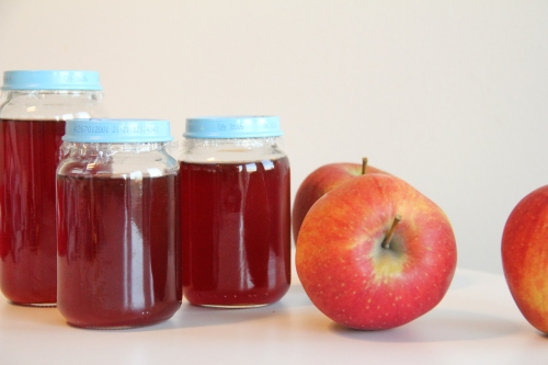 Fresh apple jelly
