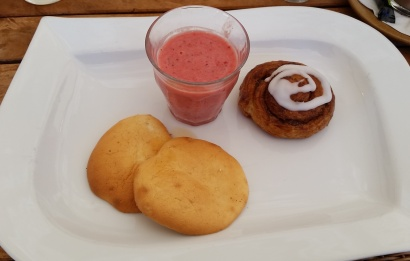 Yummy breakfast treat